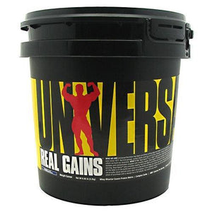REAL GAINS Vanilla 6.85 lbs By Universal Nutrition