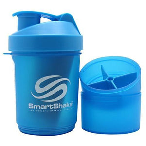 SMARTSHAKE SHKR Neon Blue 20 oz By Smart Shake