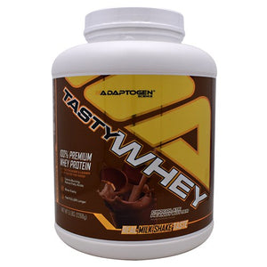 Tasty Whey Sea Salt Caramel 5 lbs By Adaptogen Science
