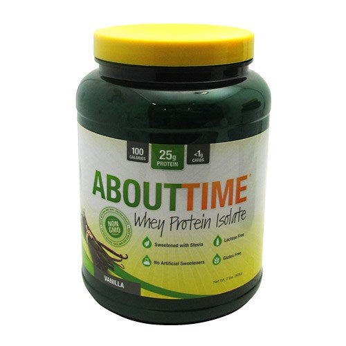 Whey Protein Isolate Vanilla 2 lbs By About Time