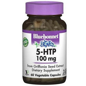 5-HTP 100 mg 60 Veg Caps By Bluebonnet Nutrition