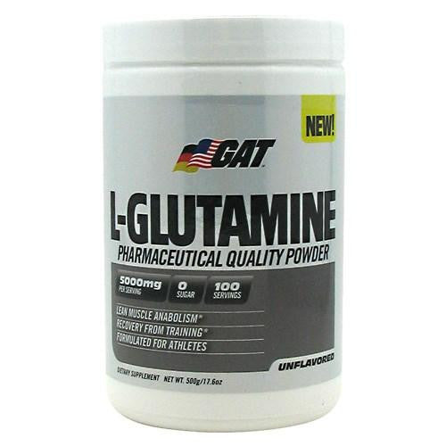 L-GLUTAMINE Unflavored 500 gm By German American Technologies