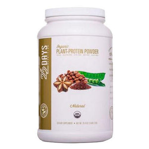 Plant-Protein Powder Natural 25.4 oz By 22 Days Nutrition