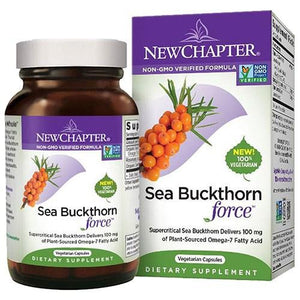 Sea Buckthorn Force 60 Veg Caps  By New Chapter