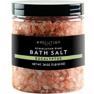 Himalayan Bath Salt Eucalyptus 26 oz By Evolution Salt