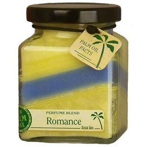 Cube Jar Candle Romance 6 oz By Aloha Bay