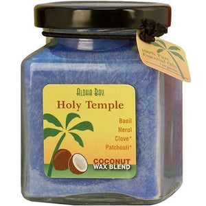 Cube Jar Candle Holy Temple 6 oz By Aloha Bay