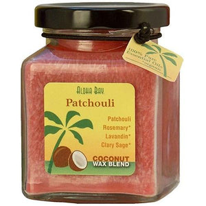 Cube Jar Candle Patchouli 6 oz By Aloha Bay