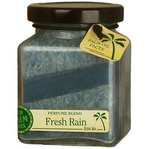 Cube Jar Candle Fresh Rain 6 oz By Aloha Bay