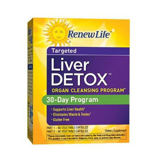 Liver Detox 2-Part Kit By Renew Life