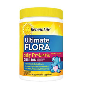 Ultimate Flora Baby Probiotic 4 Billion 2.1 Oz By Renew Life