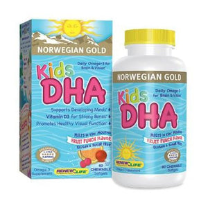 Norwegian Gold Kids DHA 60 Count By Renew Life