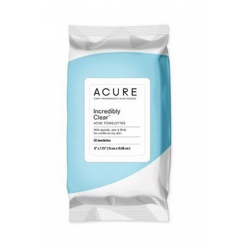 Clarifying Acne Towelettes 30 Count By Acure