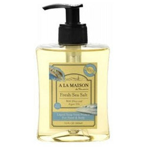 Liquid Hand & Body Soap Sea Salt 10 Oz By A La Maison