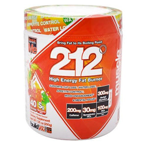 212 High Energy Fat Burner - Sour Gummy Bear 40 Servings