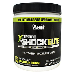 Xtreme Shock Elite Watermelon 30 Servings By Advanced Nutrient Science Intl