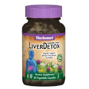 Liver Detox 60 Veg Caps By Bluebonnet Nutrition