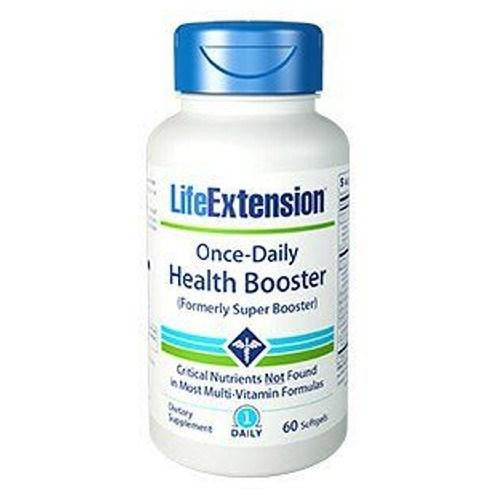 Once-Daily Health Booster 30 Softgels By Life Extension