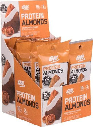 Protein Almonds Cinnamon Roll 12 Servings By Optimum Nutrition