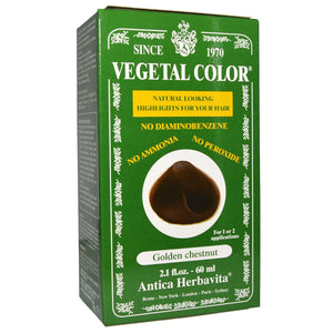 Vegetal Temporary, Golden Chestnut 2 Oz by Herbatint