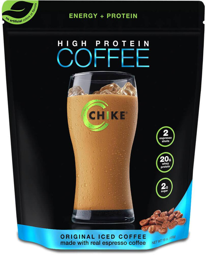Protein Iced Coffee: Vanilla, 14 Servings by Chike High