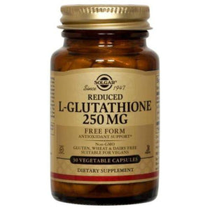 Reduced L-Glutathione 60 V Caps By Solgar