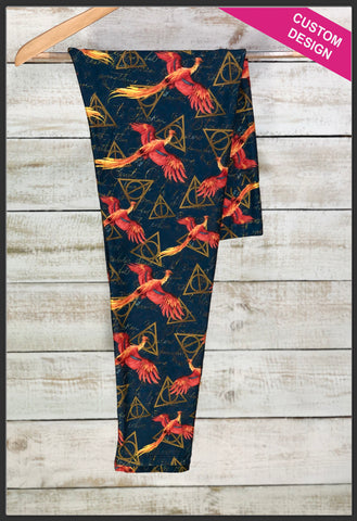 Harry Potter Phoenix Leggings