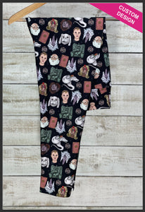 The NeverEnding Story Leggings Custom Novelty Leggings  - Arrow Trend Leggings