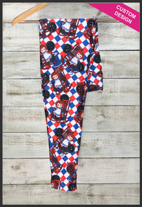 Custom Raggedy Ann Leggings Raggedy Ann Novelty Leggings - Arrow Trend Leggings