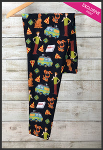 Custom Print Scooby Doo Leggings Scoob! Leggings Scooby and Shaggy - Arrow Trend Leggings