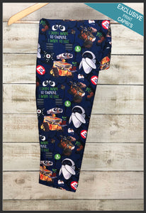 Custom WALL-E Capri Leggings Disney's Pixar Leggings - Arrow Trend Leggings