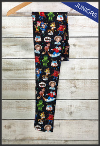 Junior's Food Mascot Custom Leggings Food Mascots Leggings - Arrow Trend Leggings