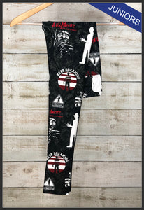 Nightmare On Elm Street Leggings Freddy Krueger Leggings Horror Movie Apparel - Arrow Trend Leggings