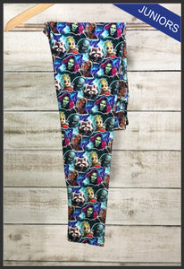 Junior's Guardians of the Galaxy Custom Leggings Guardians of the Galaxy Leggings - Arrow Trend Leggings