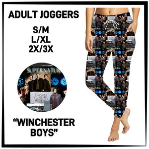 Pre-Order Supernatural Jogger Pants Custom Print Novelty Joggers - Arrow Trend Leggings