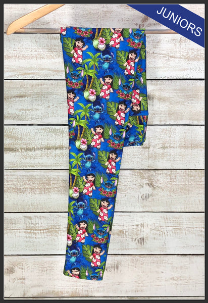 Juniors Lilo and Stitch Custom Leggings Lilo & Stitch Leggings - Arrow Trend Leggings