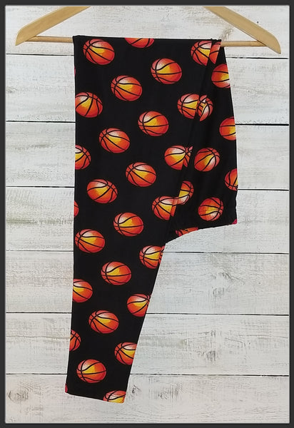 Basketball Leggings Plus Size Buttery Soft Sport Leggings Arrow Trend Leggings