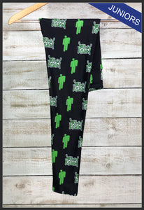 Juniors Billie Eilish Leggings Custom Billie Eilish Leggings - Arrow Trend Leggings