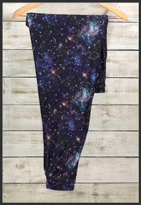 Celestial Joggers Galaxy Jogger Pants with Pockets - Arrow Trend Leggings