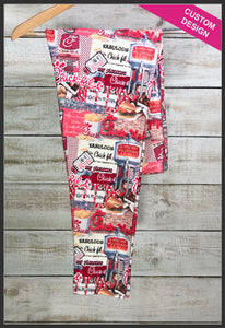 Chick-fil-A Leggings Custom Print Novelty Leggings - Arrow Trend Leggings