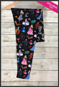 Disney's Classic Sleeping Beauty Leggings Disney Princess Leggings - Arrow Trend Leggings