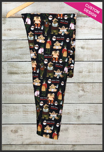 Dinosaurs Leggings Custom Print Novelty Leggings Dinosaurs TV Show Leggings Not the Mama - Arrow Trend Leggings