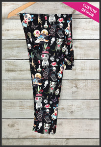 Custom Print Voodoo Leggings Voodoo Doll Leggings - Arrow Trend Leggings