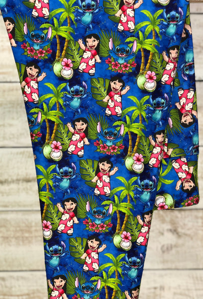 Juniors Lilo and Stitch Leggings