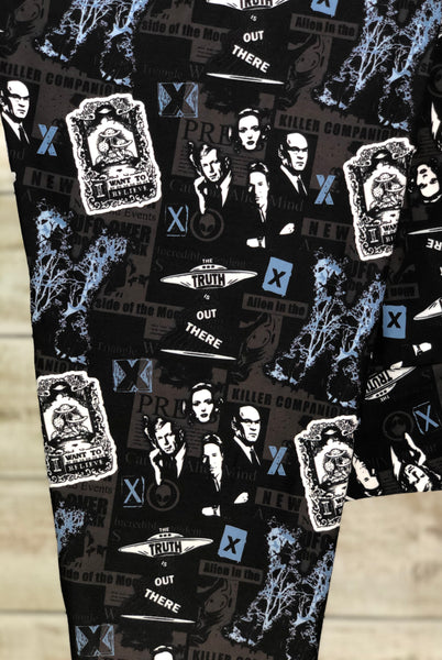X-Files Leggings Custom Print Novelty Leggings - Arrow Trend Leggings