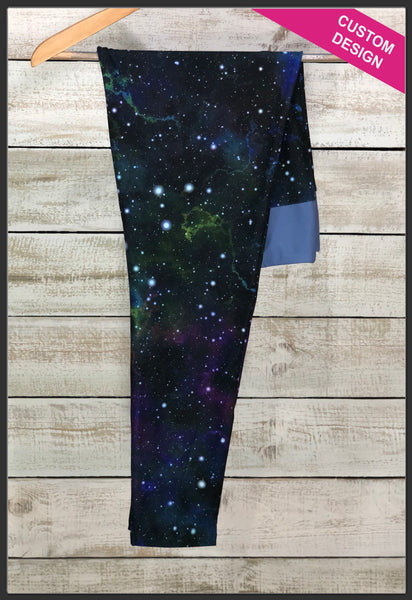 Galaxy Custom Print Leggings Custom Galaxy Leggings - Arrow Trend Leggings