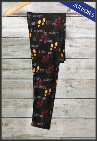 Junior's Harry Potter Custom Leggings Harry Potter Leggings - Arrow Trend leggings