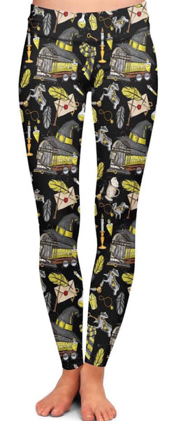HP Hufflepuff House Leggings