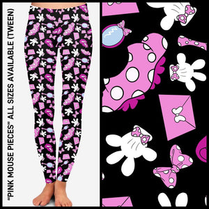 Pre-Order Disney's Minnie Mouse Leggings Custom Print Novelty Leggings - Arrow Trend Leggings