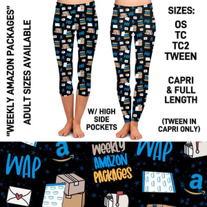 Pre-Order WAP Leggings Custom Print Novelty Leggings with Pockets - Arrow Trend Leggings